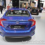 Honda Civic sedan rear at IAA 2017