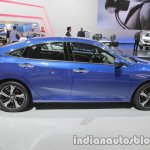 Honda Civic sedan side at IAA 2017