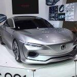 Honda Design C 001 concept front three quarters