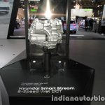 Hyundai 8-speed DCT 'Smart Stream' side at the IAA 2017