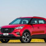 Hyundai Creta Sport front three quarters left side