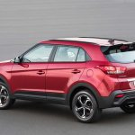 Hyundai Creta Sport rear three quarters left side
