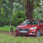 Hyundai Verna 2017 test drive review front three quarters far