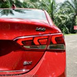 Hyundai Verna 2017 test drive review tail light