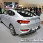 Hyundai i30 Fastback rear three quarters at IAA 2017