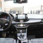 Hyundai i30 N dashboard at IAA 2017