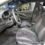 Hyundai i30 N front seats at IAA 2017