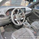 Hyundai i30 N interior at IAA 2017