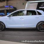 Hyundai i30 N side profile at IAA 2017