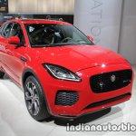Jaguar E-Pace front three quarters at IAA 2017