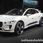 Jaguar I-Pace Concept front three quarters right at IAA 2017