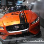 Jaguar XE SV Project 8 front at the IAA 2017