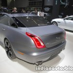 Jaguar XJR575 rear three quarters at IAA 2017