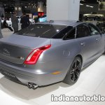 Jaguar XJR575 rear three quarters right at IAA 2017