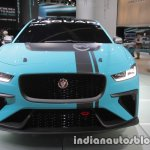 Jaguar i-Pace eTrophy front at the IAA 2017