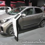Kia Picanto X-Line front three quarter view at IAA 2017