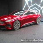 Kia Proceed Concept front three quarters left at IAA 2017