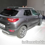 Kia Stonic rear three quarters at IAA 2017