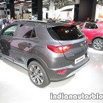 Kia Stonic rear three quarters left at IAA 2017
