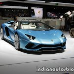 Lamborghini Aventador S Roadster front three quarters right side at the IAA 2017