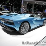 Lamborghini Aventador S Roadster rear three quarters at the IAA 2017