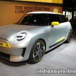 MINI Electric Concept front three quarter view at IAA 2017