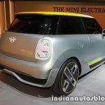 MINI Electric Concept rear three quarter at IAA 2017