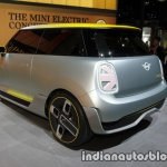 MINI Electric Concept rear three quarters left at IAA 2017
