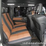 Mercedes-AMG G 63 Exclusive Edition rear seat at IAA 2017