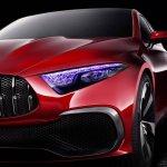 Mercedes Concept A Sedan front fascia