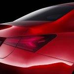 Mercedes Concept A Sedan tail lamp