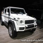 Mercedes-Maybach G 650 Landaulet front three quarters right side at the IAA 2017