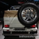 Mercedes-Maybach G 650 Landaulet rear at the IAA 2017