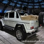 Mercedes-Maybach G 650 Landaulet rear three quarters left side at the IAA 2017