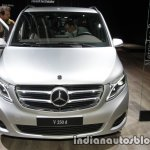 Mercedes V-Class Exclusive Edition front at the IAA 2017