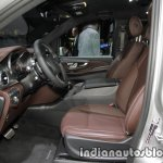 Mercedes V-Class Exclusive Edition front seats at the IAA 2017