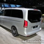 Mercedes V-Class Exclusive Edition rear three quarters at the IAA 2017