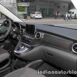 Mercedes V-Class RISE edition dashboard