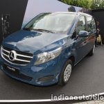 Mercedes V-Class RISE edition front three quarters