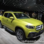 Mercedes X-Class front three quarters left at IAA 2017