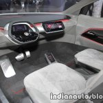 New VW I.D. CROZZ concept dashboard at IAA 2017