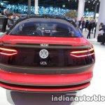 New VW I.D. CROZZ concept rear at IAA 2017