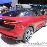 New VW I.D. CROZZ concept rear three quarters at IAA 2017