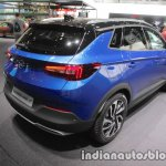 Opel Grandland X rear three quarters angle at IAA 2017