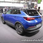 Opel Grandland X rear three quarters left at IAA 2017