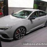 Opel Insignia GSi front three quarters at IAA 2017