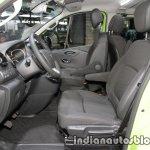 Opel Vivaro Life front seats at IAA 2017