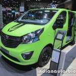 Opel Vivaro Life front three quarters right at IAA 2017