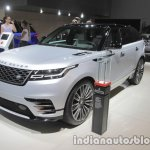 Range Rover Velar First Edition front three quarters at IAA 2017