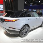 Range Rover Velar First Edition rear three quarters right at IAA 2017